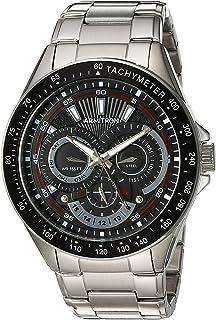 Armitron 男士 46 毫米多功能银色手表