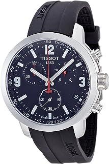 Tissot 男士手表 计时表 石英 橡胶 T055.417.057.00
