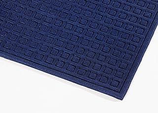 Notrax 152 华夫格 CTE 入口垫,适合家庭或办公室,91.44 厘米 X 12.70 厘米 蓝色