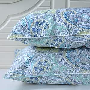 softta 1双枕套无开口不含被子800支100% 棉质丝滑软缎枕套