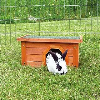 Trixie 62396 natura 小动物屋,兔子,50 x 30 x 37厘米,红色/白色