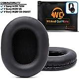 升级替换护耳垫适用于索尼 MDR 7506 - 也适用于 Wicked Cushions 的 MDR - V6 和 CD900ST 黑色