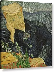 Vincent Van Gogh's Portrait of Dr Paul Gachet, Gallery Wrapped canvas 24x32