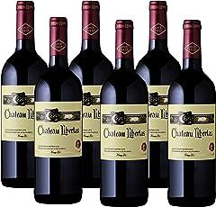 【亚马逊直采】 Chateau Libertas 丽贝斯 干红葡萄酒 750ml*6(亚马逊进口直采红酒,南非品牌) 自营精选