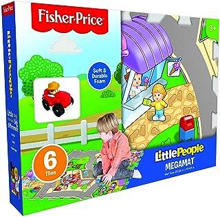 Fisher-Price 6 片拼图瓷砖 MEGA 带车辆地板垫 36 months to 360 months *