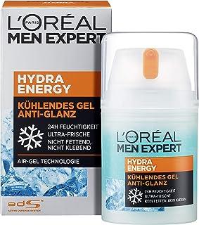 L'Oréal Men Expert 欧莱雅男士劲能保湿冰露,亚光效果, 清凉触感, 不含油脂,50毫升