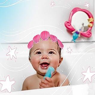 Nuby 美人鱼镜面洗澡玩具套装,3 岁以上儿童,3 件装
