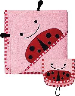 Skip Hop Zoo Towel and Mitt Sets, Ladybug