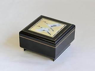彩光舍 摆件 – 12.5×12.5×7.5厘米 彩光舍 七宝烧 正角零件收纳 双鹤 120-08