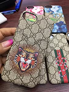 calbeebee iPhone 7 / 8 - US Fast Deliver Guarantee FBA- New Fashion Elegant Luxury PU Leather Graphic Card Slot Style Cover Case For Apple iPhone8 iPhone7 老虎