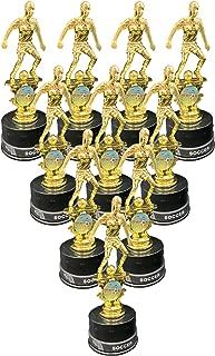 Express Medals 女孩足球*杯套装,包括硅胶足球腕带*(10 件装)