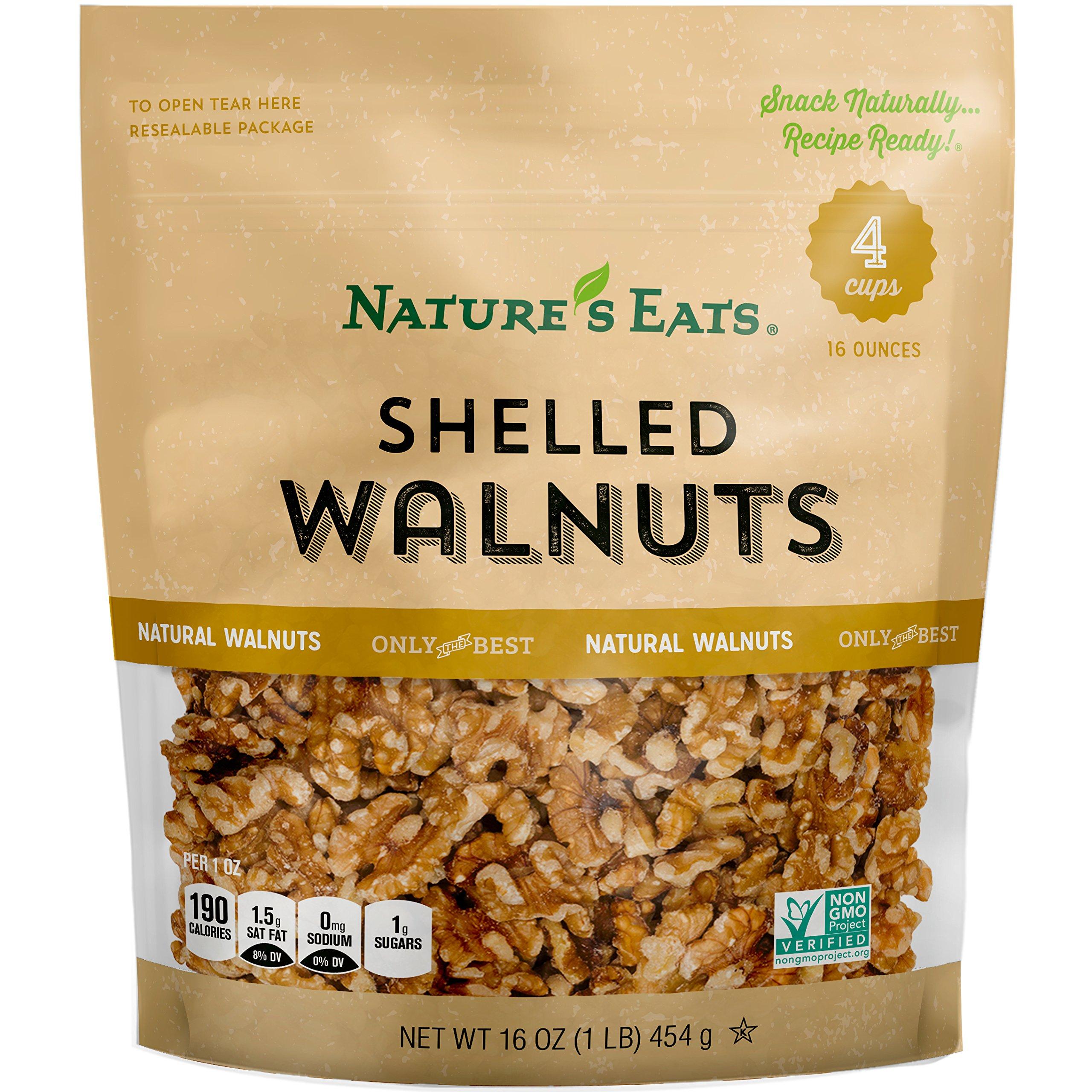 Nature's Eats 胡桃子,16 盎司 16.0 ounces