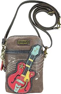 Chala Guitar Cellphone Crossbody Handbag - Convertible Strap