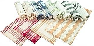 Home Passion 52570 12条厨房毛巾 50 x 70 厘米 多色