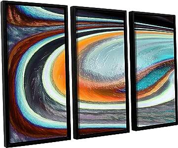 ArtWall Dean Uhlinger 3 件套 Currents Floater 加框油画套装 36x54 0uhl155c3654f