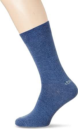s.Oliver Socks 男式 S20442 短袜,Blau(丁米麦)。 33),均码