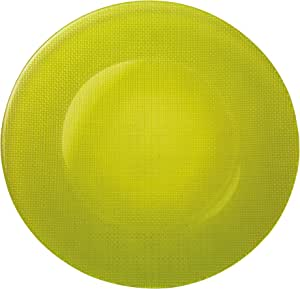 Bormioli Rocco Inca Charger Plates, Set of 12, Lime Green