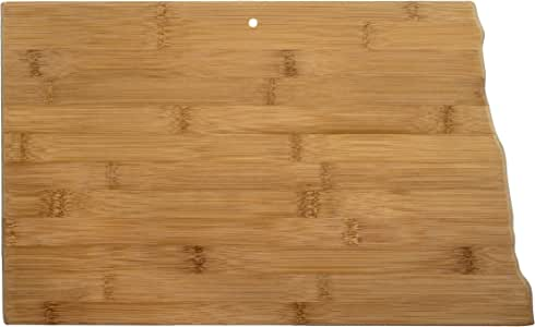 Totally Bamboo Cutting and Serving Board, North Dakota State