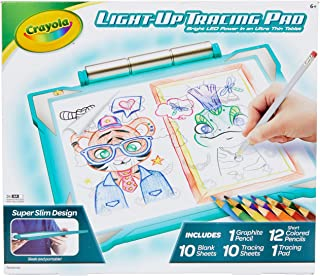Crayola Light-Up Tracing Pad Pink, Coloring Board