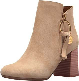 See by CHLOE 女式 LOUISE midheel 及踝靴 天然 38.5 M EU (8.5 US)