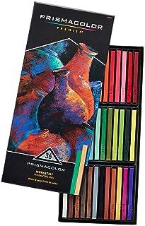 Prismacolor 三福霹雳马 Nupastel 36色水溶性蜡笔粉笔套装 干湿两用 绘画色粉笔粉彩棒