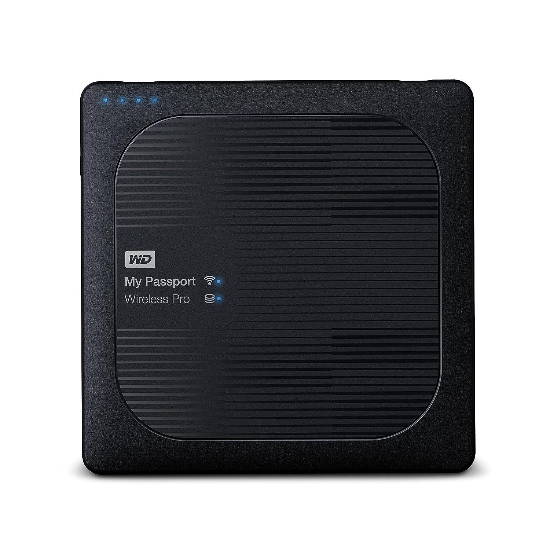 西部数据 3TB My Passport Wireless Pro便携式外置硬盘