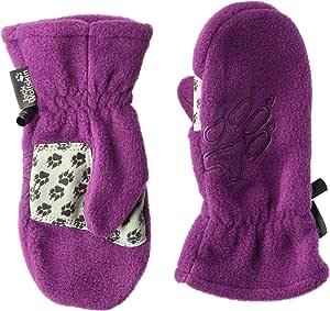 Jack Wolfskin 抓绒手套,儿童抓绒手套 Size92(18-24) 紫色 1901871-2105092