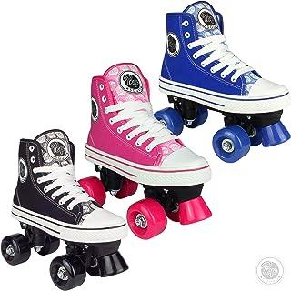Pop Squad Midtown 女孩和男孩滑轮鞋 - 蓝色