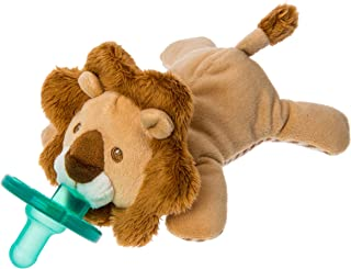 Wubbanub 绒毛填充玩具和安抚奶嘴 狮子 Size