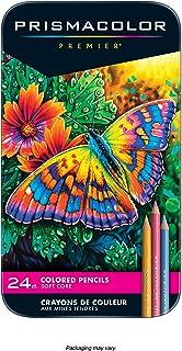 Prismacolor Premier 软芯彩色铅笔, 多种颜色, 24支