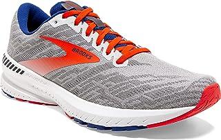 Brooks 男式 Ravenna 11 跑鞋,灰色/樱桃色/马扎林,英国码