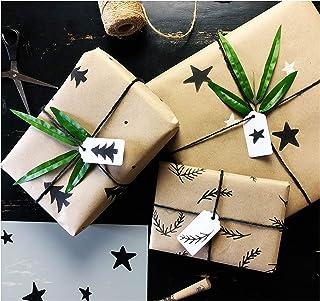圣诞礼物包装 DIY 模板套件 Klar 3 metres