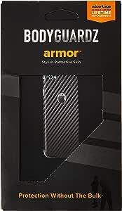 BodyGuardz Carbon Fiber Armor Full Body Protector for iPhone 6 - Skin - Retail Packaging - Black 黑色