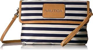 Nautica 完美的 carry-all 迷你斜挎包手包与 RFID 屏蔽