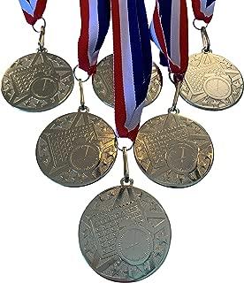 Express Medals 金色调*章*杯带颈带(6 件装)