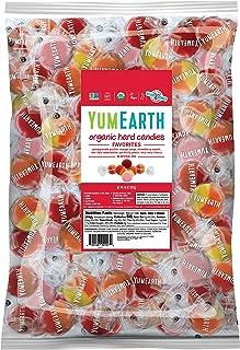YumEarth Favorite水果硬糖,5磅/2268克袋裝