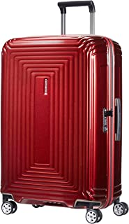 Samsonite 新秀麗 Neopulse 萬向輪 M 行李箱,Métallique Red,69 cm
