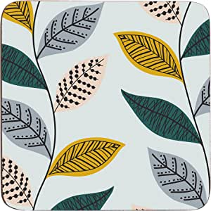 Premier Housewares 蕨类植物杯垫 - 多色,4 件套