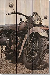 Gizaun Art 经典骑行室内/室外墙壁艺术 16W x 24H in. 棕色 CR1624