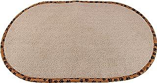 Home-X - 宠物碗垫,吸水性强的超细纤维设计通过浸泡和滴液减少脏乱,非常适合猫和狗