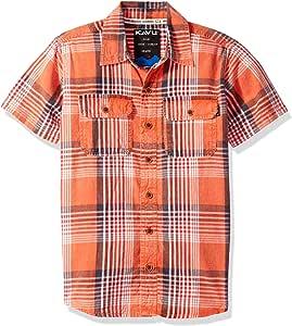 KAVU Beach Comber 系扣衬衫,瓶子火箭