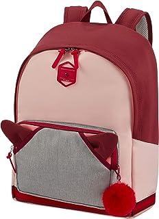 Samsonite 新秀丽 Sam School Spirit Sam 校园精神 尺寸:33 x 16 x 41 厘米 – 22 L – 0,50 千克 Burgundy Pink Mascot Burgundy Pink Mascot