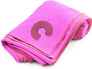 Microfiber Yoga Towel, Non-Slip, Sweat Absorbent, Improves Your Grip, Protects Your Mat