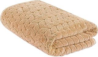 Bagno Milano 提花豪华土耳其毛巾,* 土耳其棉,速干超柔软,吸水毛绒毛巾,土耳其制造 拿铁白 Bath Sheet