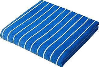 CB Japan 超細纖維毛巾 Carari Kuo Stripe系列 條紋 藍色×白色 120×60cm マイクロファイバー