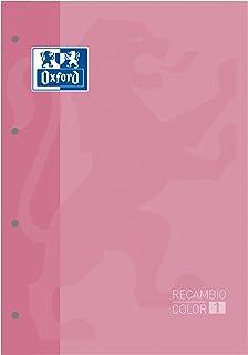 Oxford 421816 记事本,A4 80页,5X5,粉红色