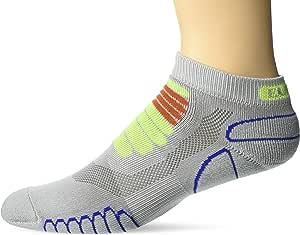 Eurosock,跑步袜,*二层皮肤感觉,缓解热点和脚部压力,提供舒适,吸湿控制 -6309