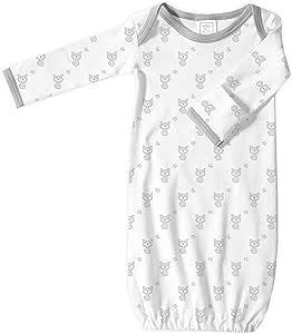 SwaddleDesigns棉质睡袍,小号,标准尺码