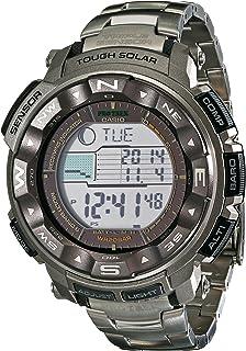 Casio 卡西欧 男士 Pro Trek Tough 太阳能数字运动手表