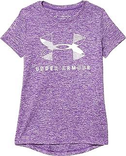 Under Armour 安德玛 女童大徽标 Twist 短袖训练锻炼 T 恤